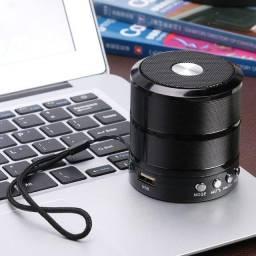 Caixinha De Som Potente Bluetooth Ws-887