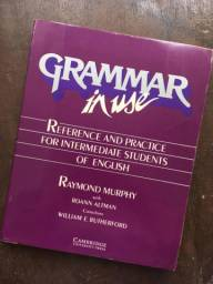 Livro Grammar in use - intermediário