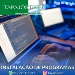 Instalação Programas