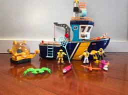 Imaginext Fischer Price- Navio Pesadelo do Mar (completo)