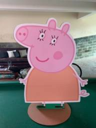 Display de chao personagens peppa pig em mdf