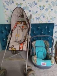 Carrinho Galzerano 180 leva bebê conforto