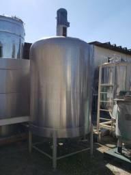 Tanque inox com misturador 4.000 litros