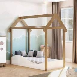 Mini cama Uli Montessoriana Nova