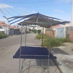 VENDE-SE BARRACA DE FEIRA
