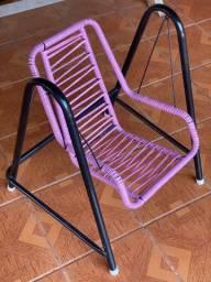 Cadeira de balanço de fio infantil