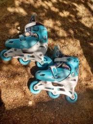 Roller Junior azul claro