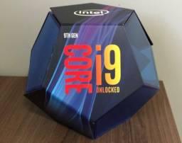 Processador Core I9-9900k + Water Cooler 120mm Cooler Master