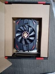Placa RX550 4giga com 5meses de uso