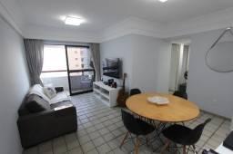 Apartamento Espinheiro 80m2, 1 vaga Ed. Igarassu Colonial, Recife