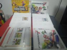 Jogo Mario kart 7 e Mario Bros Nintendo 3ds