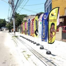 Wind Banner Dupla Face Completo,!!!!!! Cuidado Com as Pegadinhas !!!!