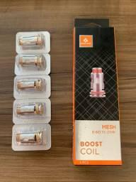Boost Coil Mesh 0.6 ohms