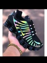 Tênis Da Nike _refletivo_ (12 Molas).