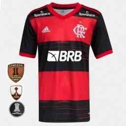 Camisa do Flamengo /2020 + Patrocínios