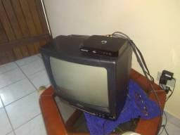 Televisão cce mais conversor da positivo