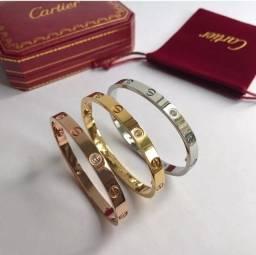 Bracelete Cartier Love - Ouro 18K - C/NF - 12X Boleto - Oportunidade !!