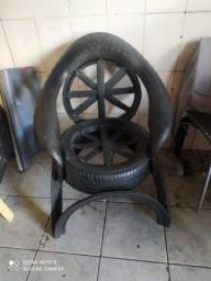 Cadeira de pneus