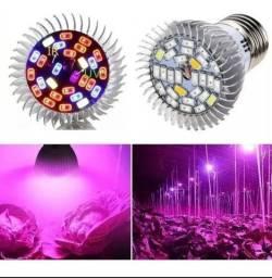Lâmpada led 28 w.grow full spectro (UV + IR). cultivo indoor. Maior eficiência e economia