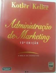 Livro A Bíblia Do Marketing De Kotler E Keller 12° Edição