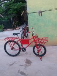 Bicicleta cargueira filé