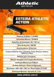 Esteira Eletrônica Athletic Action 10km/h + Garantia de 1 ano, Entrega em 2 dias