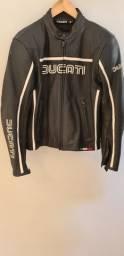 Jaqueta de couro Ducati tamanho M