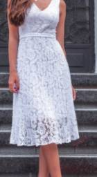 Vestido Midi renda