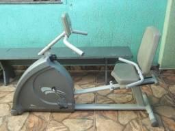 Bicicleta Ergométrica Magnética Horizontal Athletic Pro - Novíssima