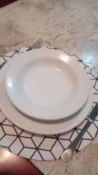 Prato fundo cerâmica, 21 cm
