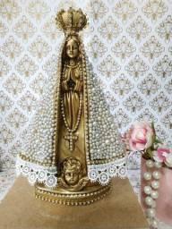 Artigos Religiosos. Nossa Senhora Aparecida em gesso