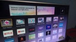 Tv smart de 42 Panasonic wife entregando telão entrego