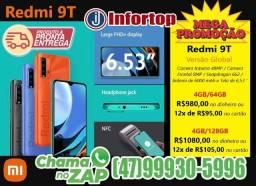 Xiaomi Redmi 9T - PrOnTa EnTrEgA! Original, lacrado e com garantia!
