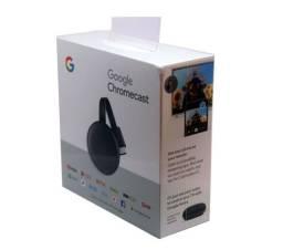 Novo Chromecast 3 Google Full HD Streaming - Smart tv / Netflix - Pronta Entrega