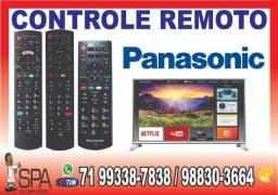 Controle Panasonic Tv N2QAYB000485 Tecla Netflix e Amazon