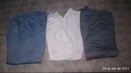 3 calças moletom