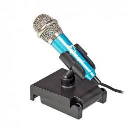 Mini Microfone para Celular Knup kp-907 Gravação Youtuber