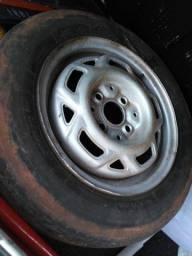 Step estepe 13 quebra galho pneu ruim mas ja nao deixa apé