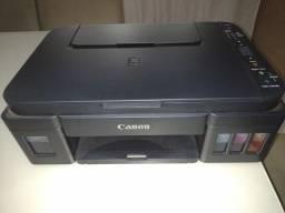 Muito barato!!!! MULTIFUNCIONAL CANON G3110 usa tanque de tinta econômico