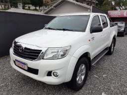 Toyota Hilux CD 4X2 ano 2015 Flex! Aut
