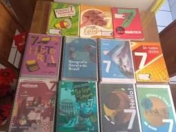 Livros usados 7° Ano Colégio São Paulo