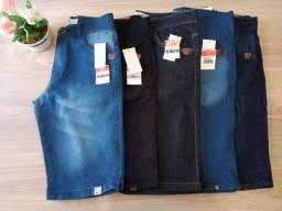 Bermudas Jeans Masculinas número 38 e 40