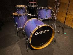 Ludwig Classic Maple Indigo Sparkle - 10/12/15/22 - Made in USA
