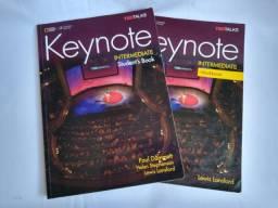 Livro Keynote Intermediate - Student Book + Workbook + 2 cds