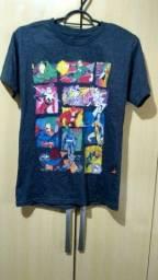 Camiseta Unissex Da DC Tam: 12