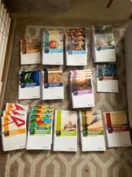 Kit completo livros terceirão do Colégio Bom Jesus