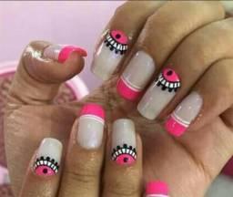 Designar de unhas/alongamento de unhas, manicure/pedicure atend em domcilio. 12 981153828