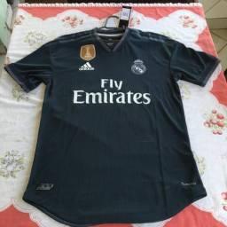 Camisa Real Madrid II Modelo Jogador 18 19 6d5e2faf861a7