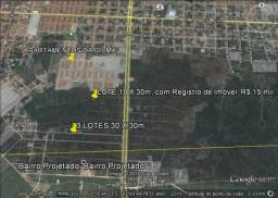 Terreno de 10 x 30m, Lot. Santa Luzia, Bairro Piauí, em Parnaíba,