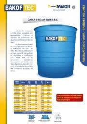 Caixa d'água de fibra ou polietileno com 5.000 litros